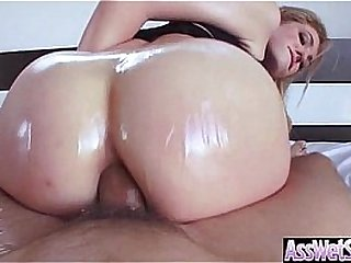 (Dahlia Sky) Huge Ass Oiled Sexy Girl Enjoy Anal Sex video-13