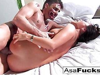Asa Akira gets her ass..