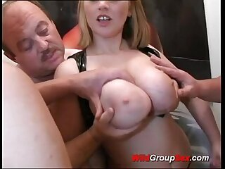 Busty German Teen takes..
