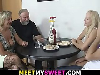 Hot old-young lesbian..