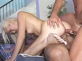Threesome - young girl ask -..