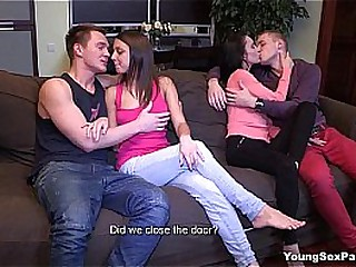 Young Sex Parties - Two hot..