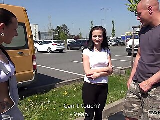 Takevan Busty teen & biggest..