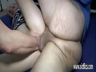 Double fist and cock fucked..