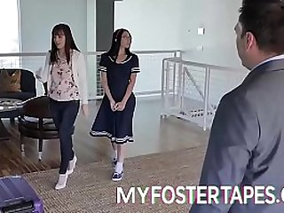 FULL SCENE on http://MyFosterTapes.com - Alex Coals new foster mother has her best interest at heart. As she moves in with her new husband, she makes sure that he is willing to take Alex in as a foster daughter of his own