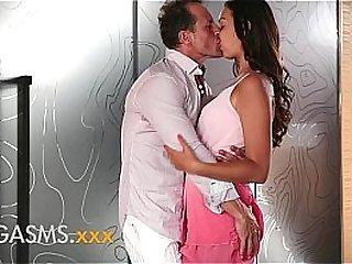 Sensual sex for young latina
