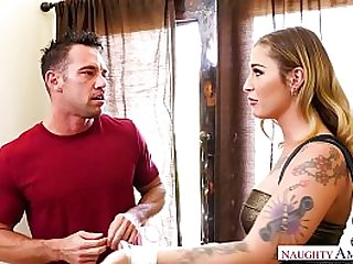 Kleio Valentien Cheats With Boyfriend's Best Friend And Squirts on His Big Dick