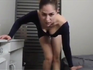 My real stepsister receives biggest facial after nice sex