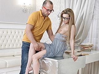Sonya Sweet Yan in Nerdy Sex..