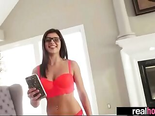 Real Hot Superb GF (leah gotti) Banged On Camera video-18