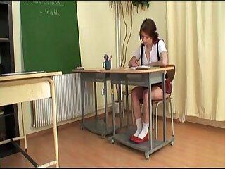 Teacher bangs schoolgirl..
