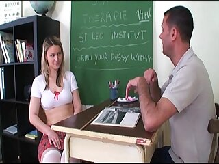 Submissive schoolgirl shows..