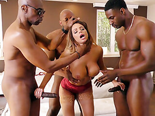 Brooklyn Chase Interracial..