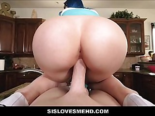 Young Teen Step Sister With..