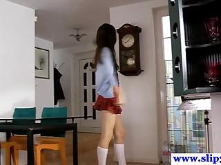 Casted polish schoolgirl..