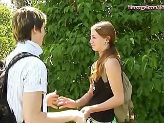 young skinny teen couple,..