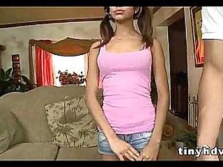 Teenie tiny girl fucked..