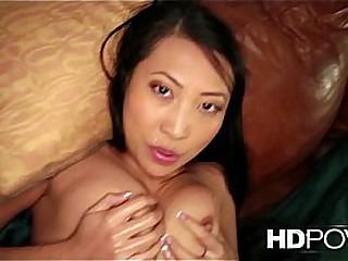 HD POV French Asian girl..