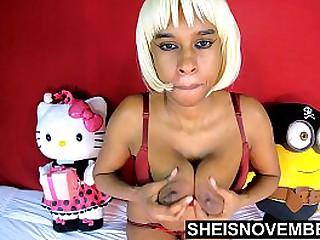 HD Huge Ebony Nipple Massive..