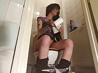 Young girl piss and s. in front of hidden cam pt1 HD
